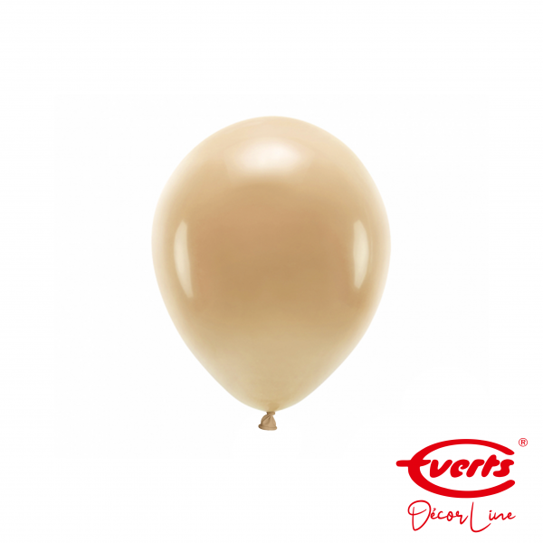 100 Miniballons - DECOR - Ø 13cm - Crystal - Chocolate Brown