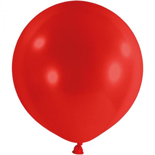 1 Riesenballon - Ø 1m - Rot