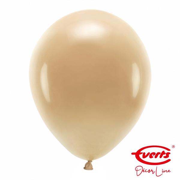 50 Luftballons - DECOR - Ø 35cm - Crystal - Chocolate Brown