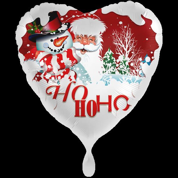 1 Ballon XXL - Schneetraum