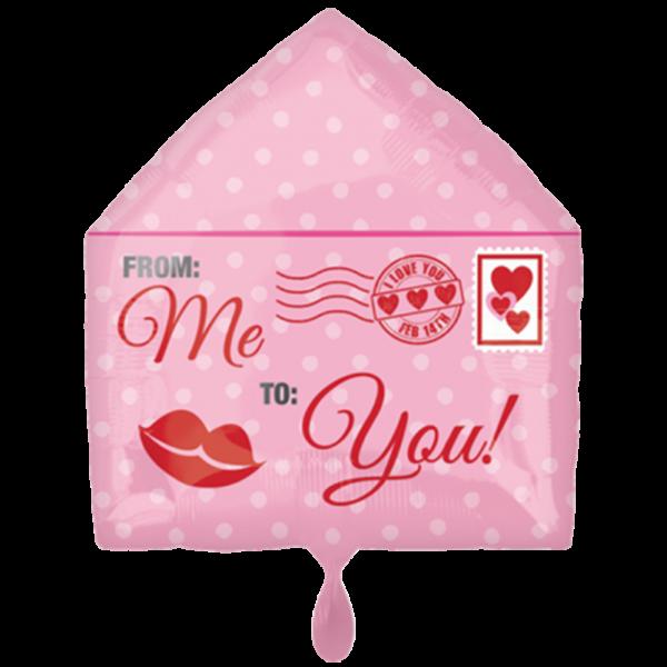 1 Ballon - Love Letter - Ø 50cm