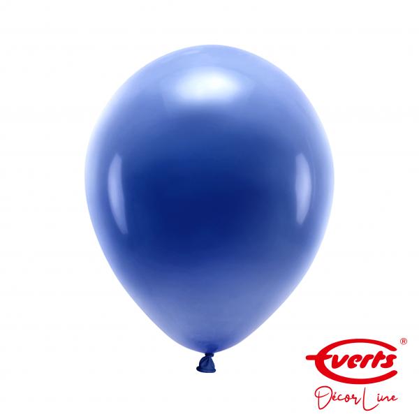 50 Luftballons - DECOR - Ø 28cm - Pearl & Metallic - Navy Flag Blue
