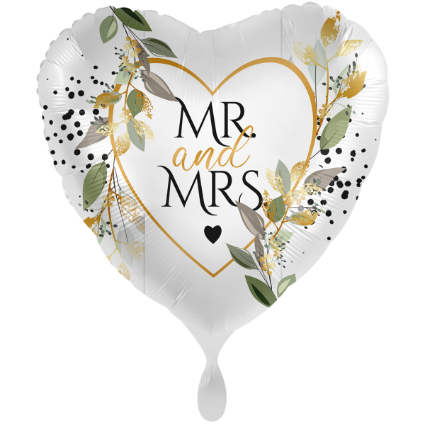 1 Ballon XXL - Mr. & Mrs. Botanical