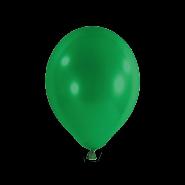 100 Luftballons - Ø 27cm - Grün