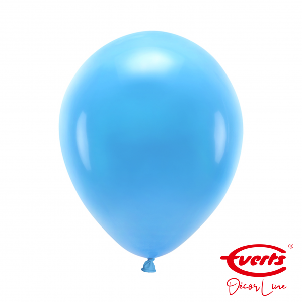 50 Luftballons - DECOR - Ø 28cm - Crystal - Bright Royal Blue