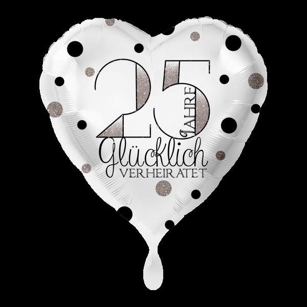 1 Ballon - 25 Jahre Glücklich