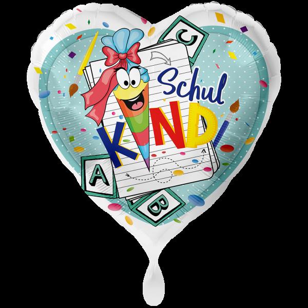 1 Ballon XXL - Schulkind