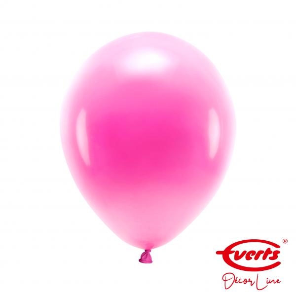 50 Luftballons - DECOR - Ø 28cm - Pearl & Metallic - Hot Pink