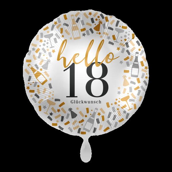 1 Ballon - Hello 18