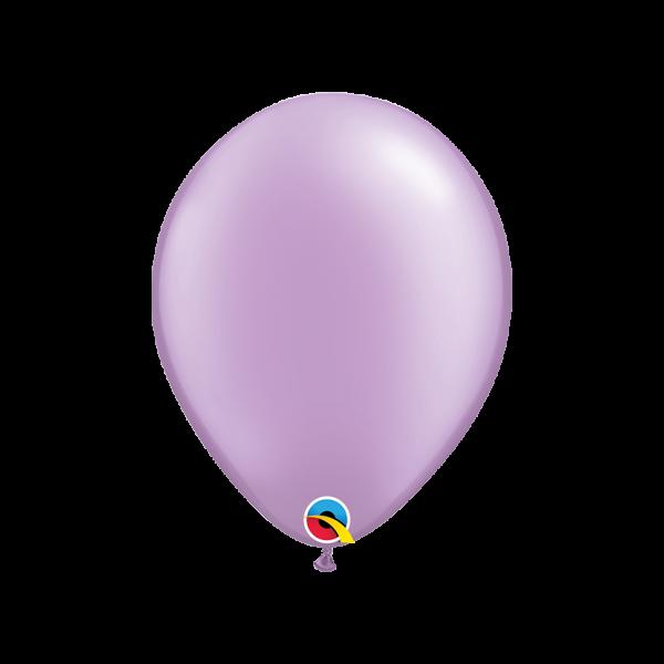 6 Luftballons - Ø 27cm - Pearl - Lavender