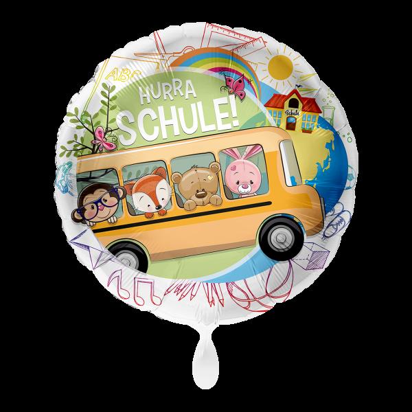 1 Ballon - Schulbus