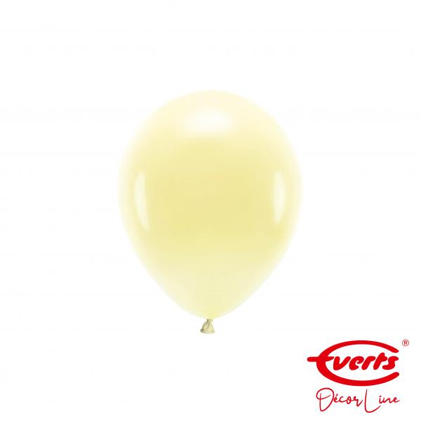 100 Miniballons - DECOR - Ø 13cm - Vanilla Cream
