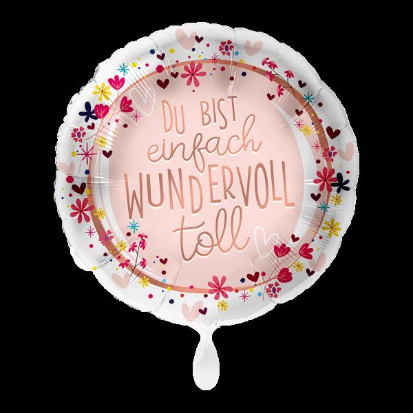 1 Ballon - Du bist toll