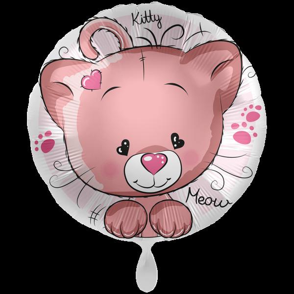 1 Ballon XXL - Kitty Cat