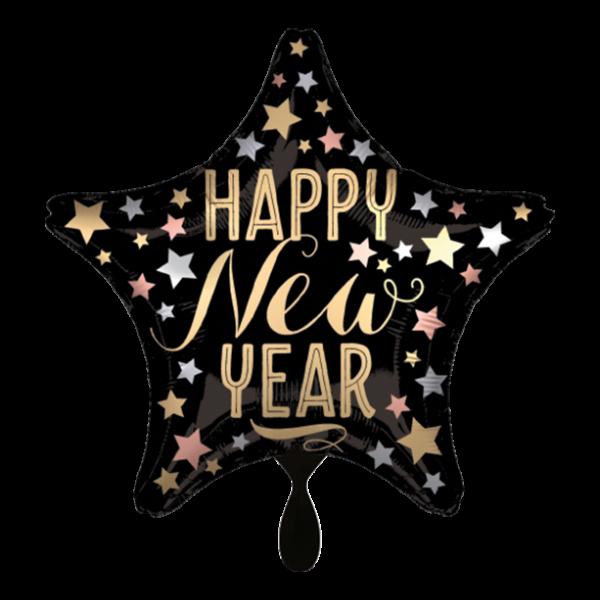 1 Ballon - Satin New Year