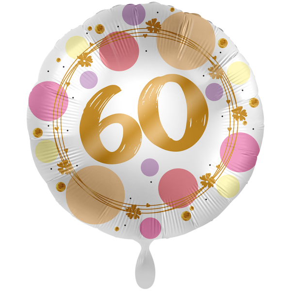 1 Ballon XXL - Shiny Dots 60
