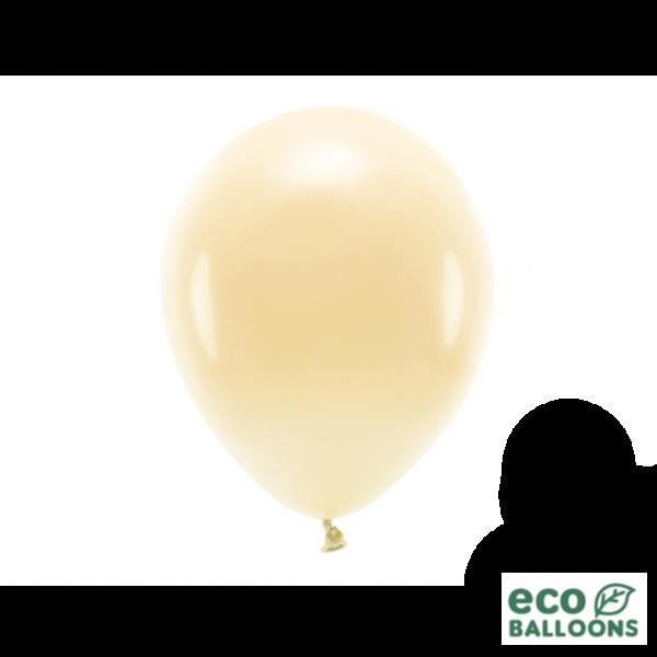 10 ECO-Luftballons - Ø 26cm - Light Peach