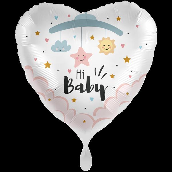 1 Ballon XXL - Hi Baby