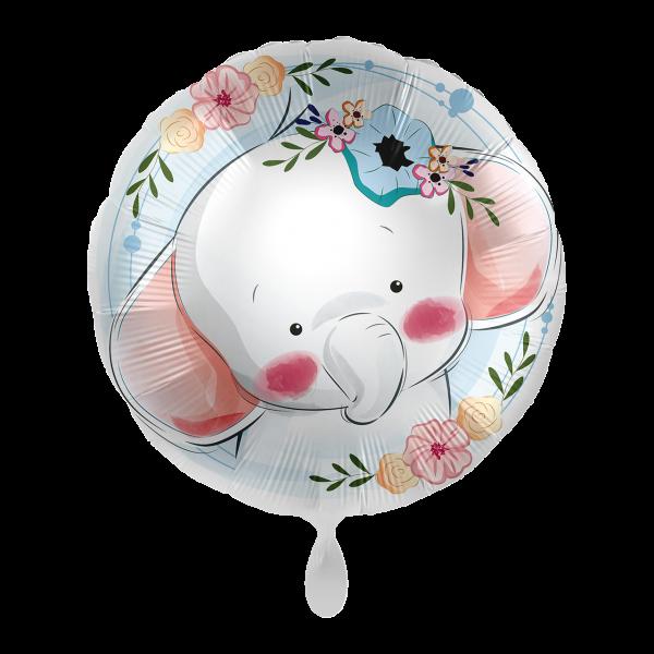 1 Ballon - Cute Elephant