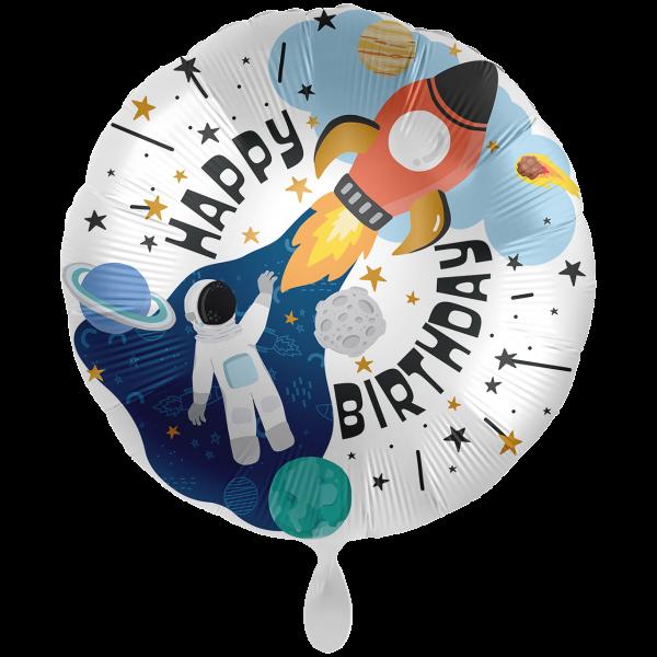 1 Ballon XXL - Birthday Outer Space