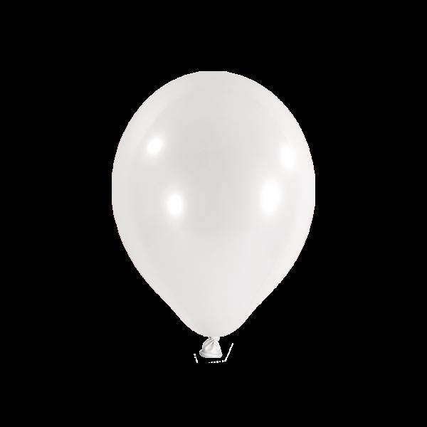 100 Luftballons - Ø 23cm - Weiß