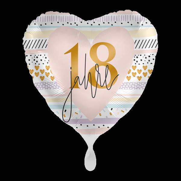 1 Ballon - Creamy Blush 18