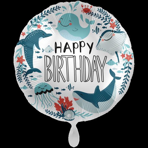1 Ballon XXL - Under The Sea Birthday