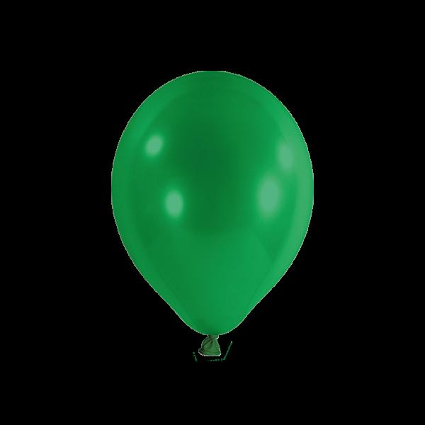 100 Luftballons - Ø 23cm - Grün