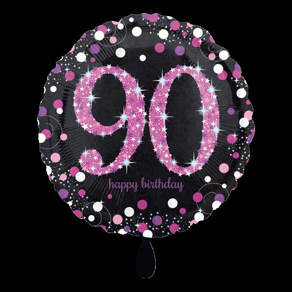 1 Ballon - Pink Celebration 90