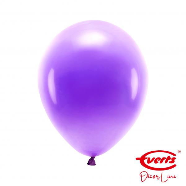 50 Luftballons - DECOR - Ø 28cm - Pearl & Metallic - Purple