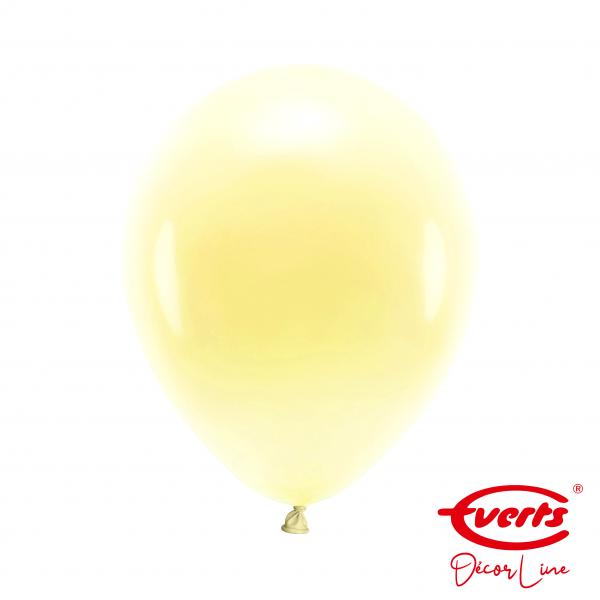 50 Luftballons - DECOR - Ø 28cm - Pearl & Metallic - Vanilla Cream