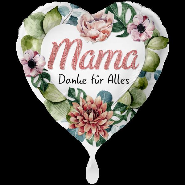 1 Ballon XXL - Mama Danke für Alles