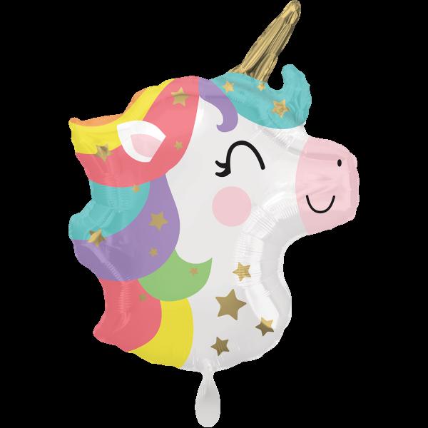 1 Ballon - Baby Unicorn