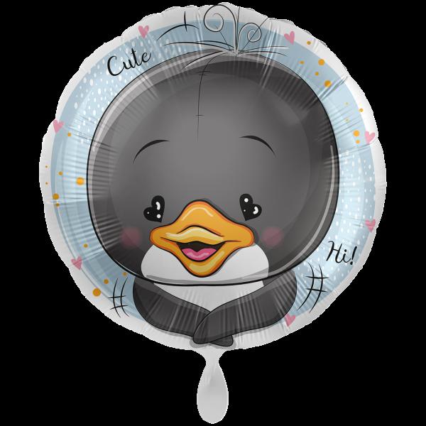 1 Ballon XXL - Adorable Penguin