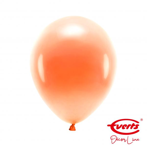 50 Luftballons - DECOR - Ø 28cm - Pearl & Metallic - Tangerine