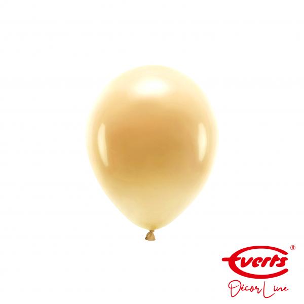 100 Miniballons - DECOR - Ø 13cm - Pearl & Metallic - Gold