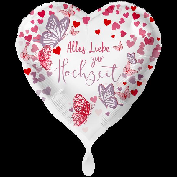 1 Ballon XXL - Hochzeit Alles Liebe
