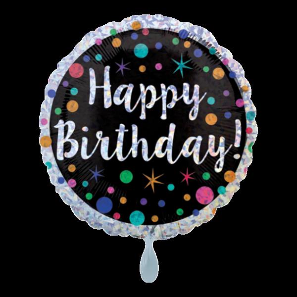 1 Ballon - Polka Dot Bday