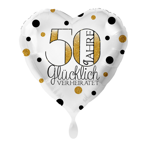 1 Ballon - 50 Jahre Glücklich