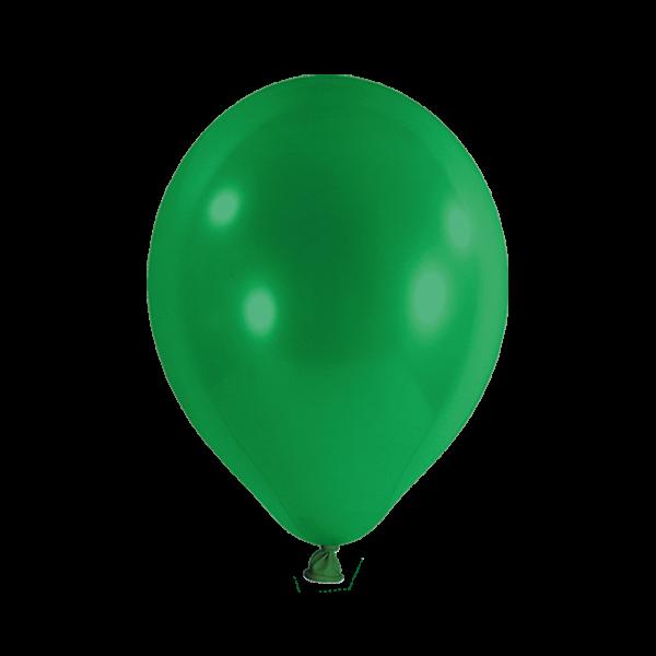 100 Luftballons - Ø 30cm - Grün