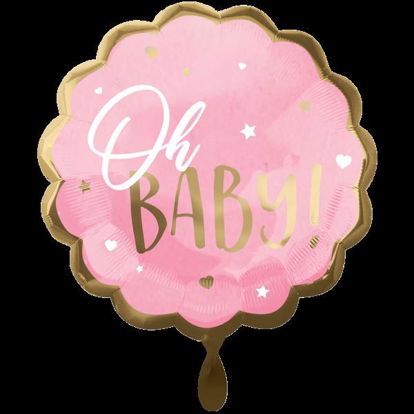 1 Ballon XXL - Pink Baby Girl