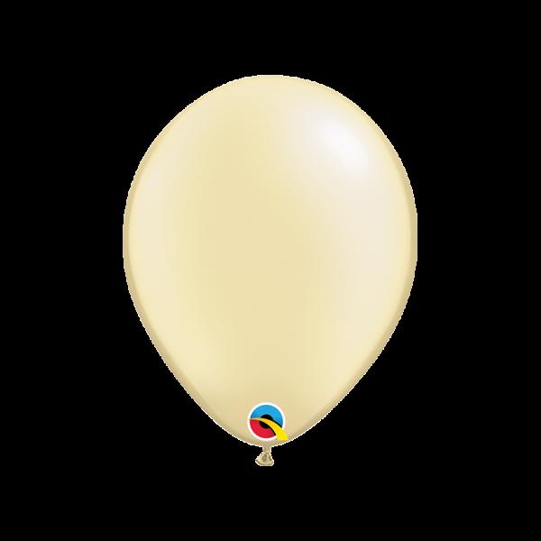 100 Luftballons - Ø 27cm - Pastel Pearl - Ivory