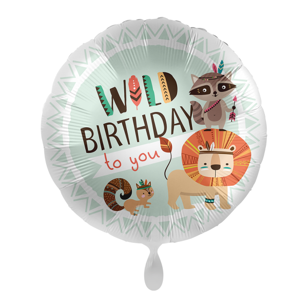 1 Ballon - Wild Birthday