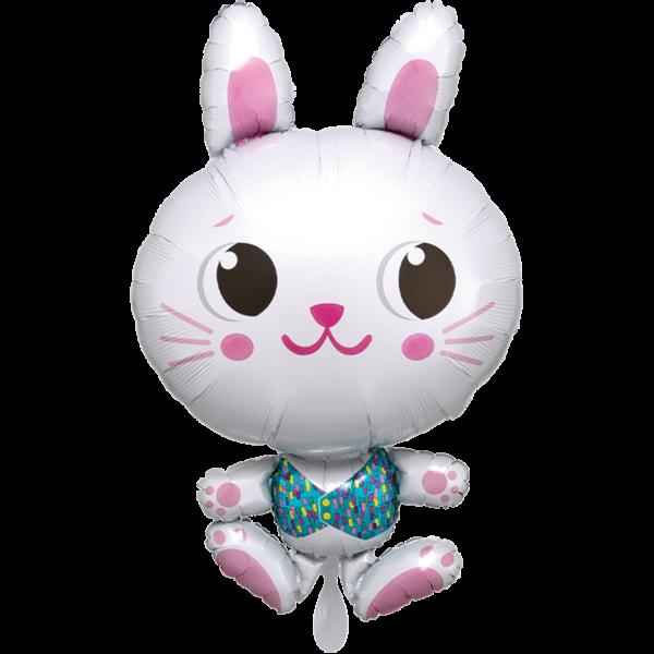 1 Ballon XXL - Funny Bunny