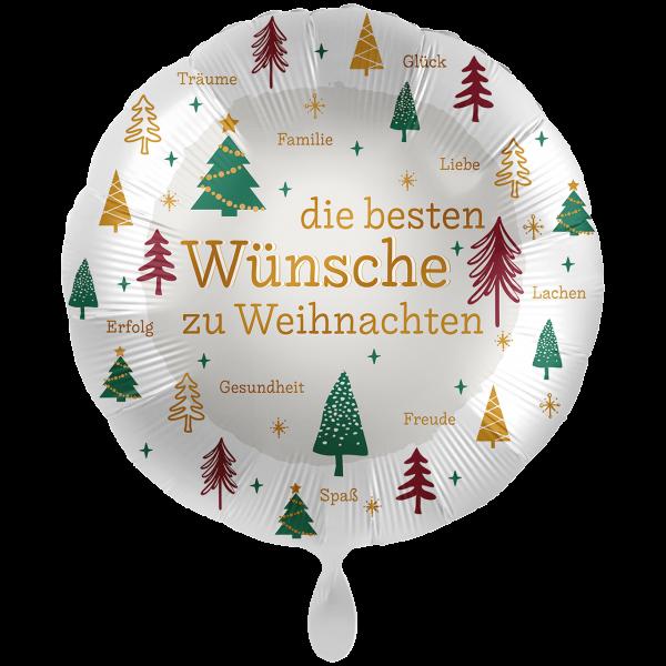 1 Ballon XXL - Christmas Wishes