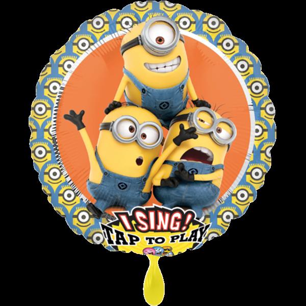 1 Musikballon - Despicable Me Group