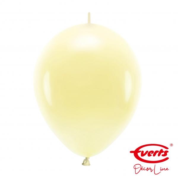 50 Girlandenballons - DECOR - Ø 30cm - Vanilla Cream
