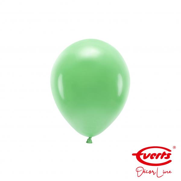 100 Miniballons - DECOR - Ø 13cm - Crystal - Festive Green