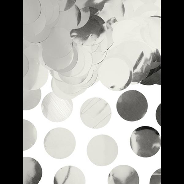 15g Folienkonfetti - Silber