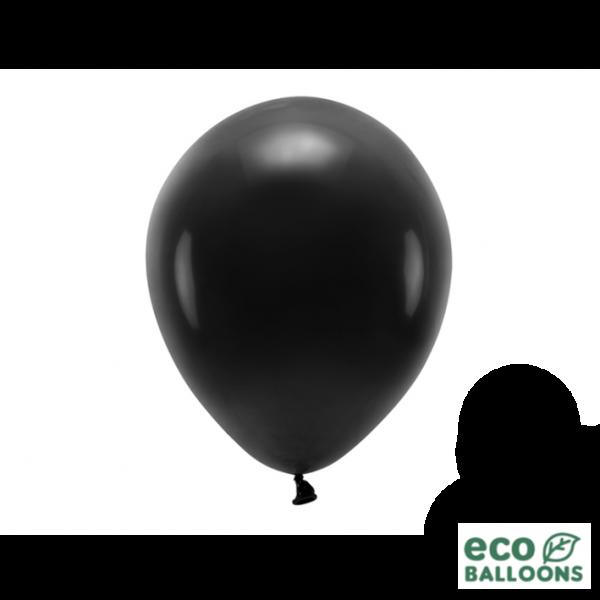 100 ECO-Luftballons - Ø 26cm - Black
